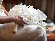 Красиво свадебный букет