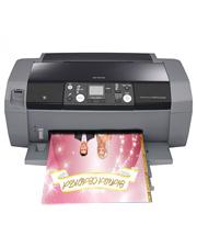 Принтер печатает фото